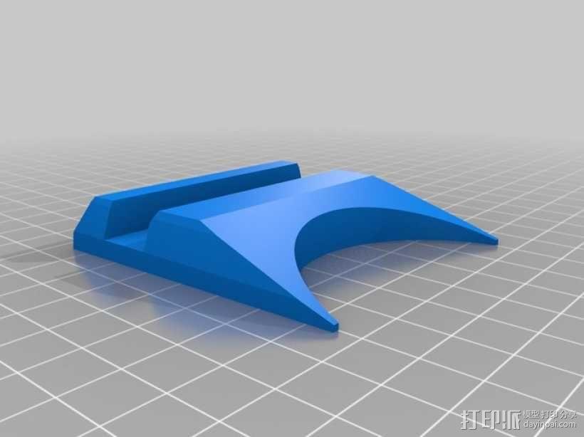 谷歌NEXUS7平板电脑支架 3D模型  图1