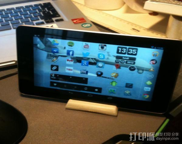 谷歌NEXUS7平板电脑支架 3D模型  图4