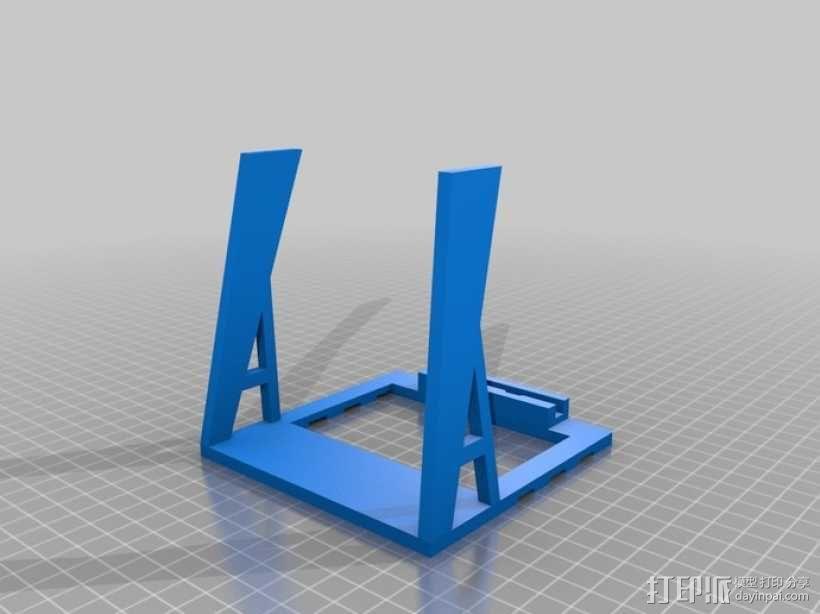 头戴式耳机展示架 3D模型  图3