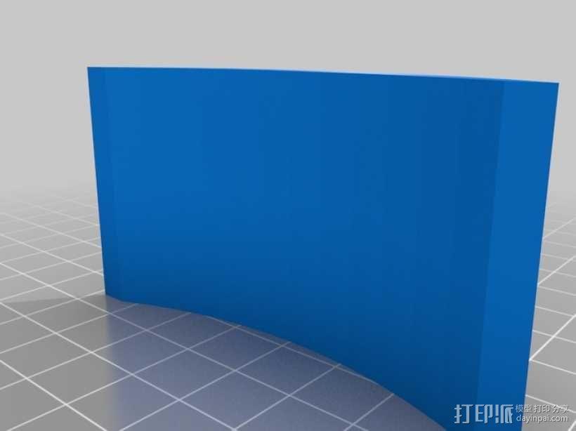 头戴式耳机展示架 3D模型  图5