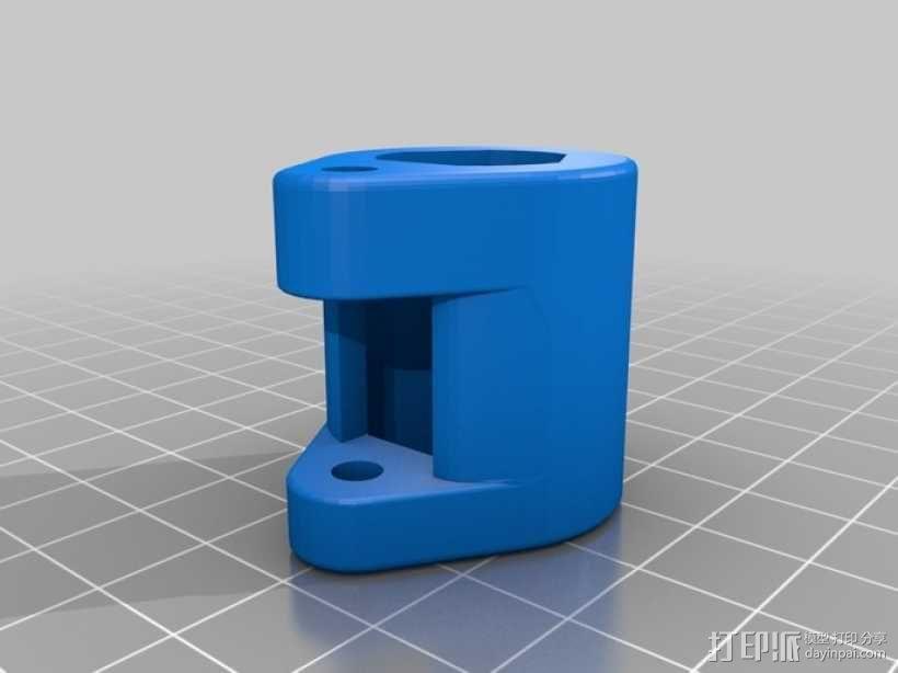 三脚架闩 3D模型  图7