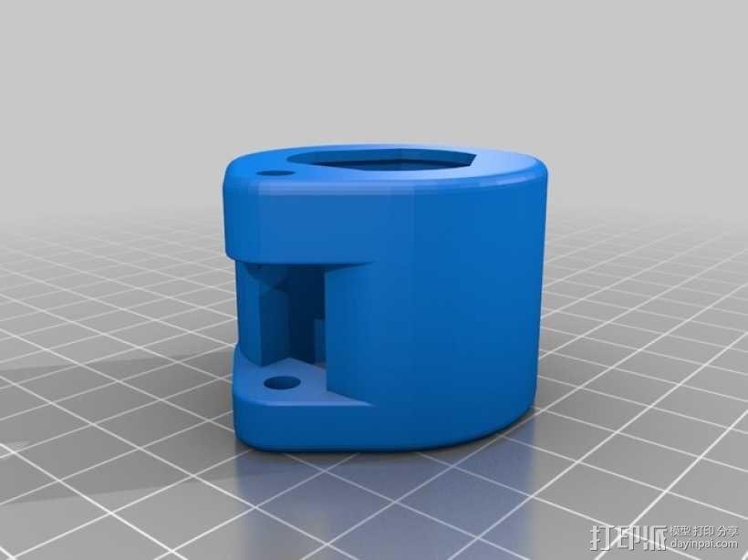 三脚架闩 3D模型  图5