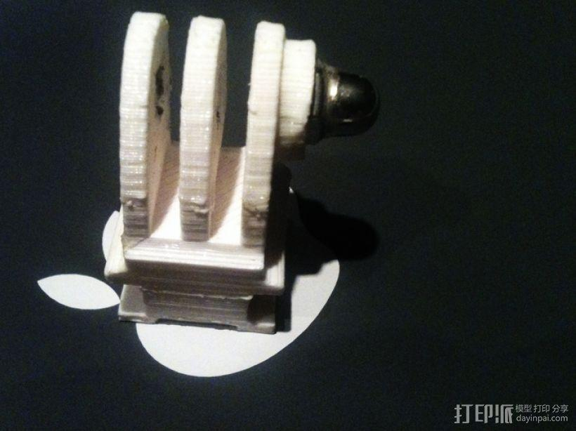 GoPro 相机热靴底座 3D模型  图2