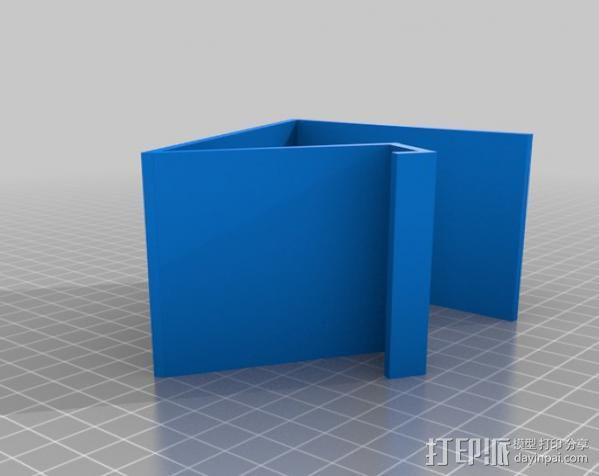 手机支撑架 3D模型  图3