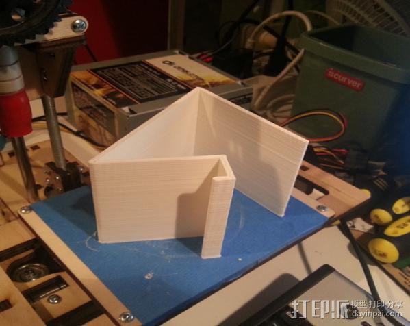 手机支撑架 3D模型  图4