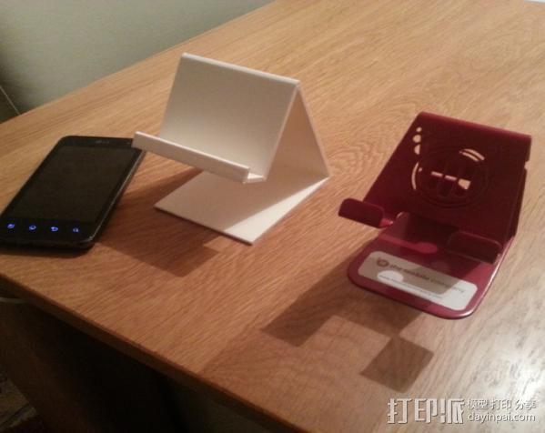 手机支撑架 3D模型  图5