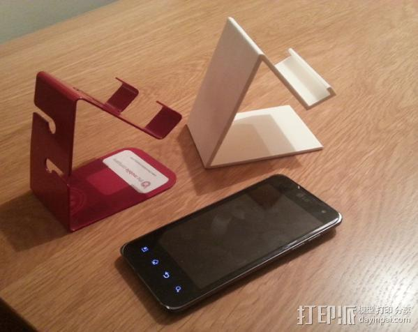 手机支撑架 3D模型  图6