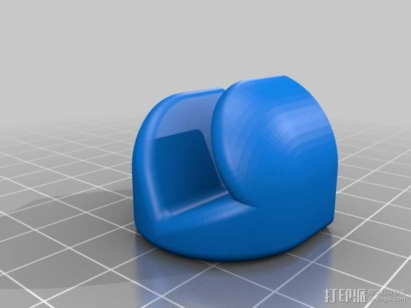 iPad 平板电脑支撑架 3D模型  图3