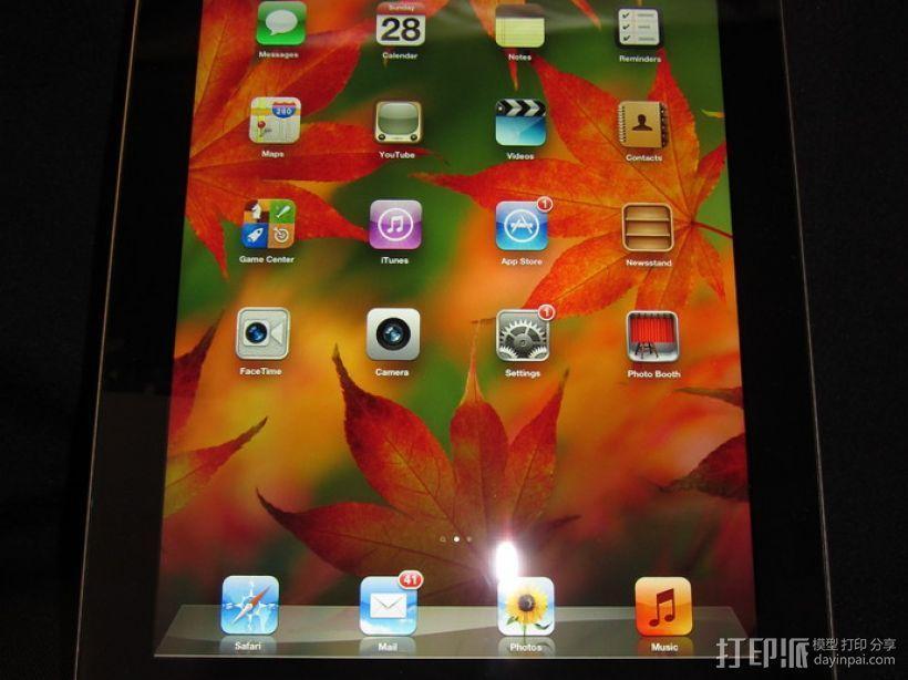 iPad 平板电脑支撑架 3D模型  图6