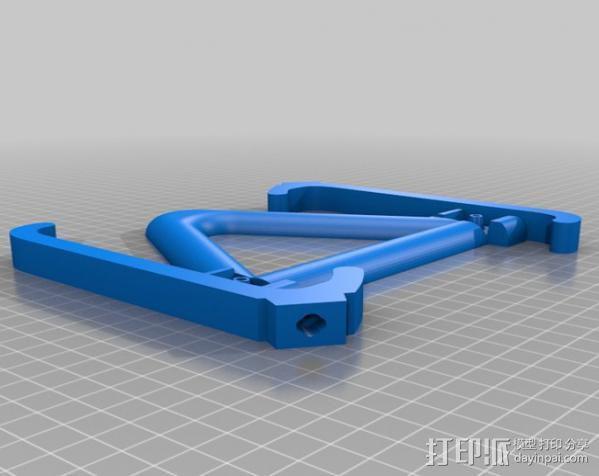 通用型手机支架 3D模型  图4