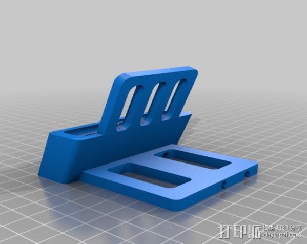 iPhone 5 手机架 3D模型  图1