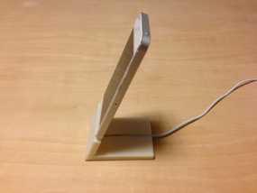 iPhone 5手机座 充电座 3D模型