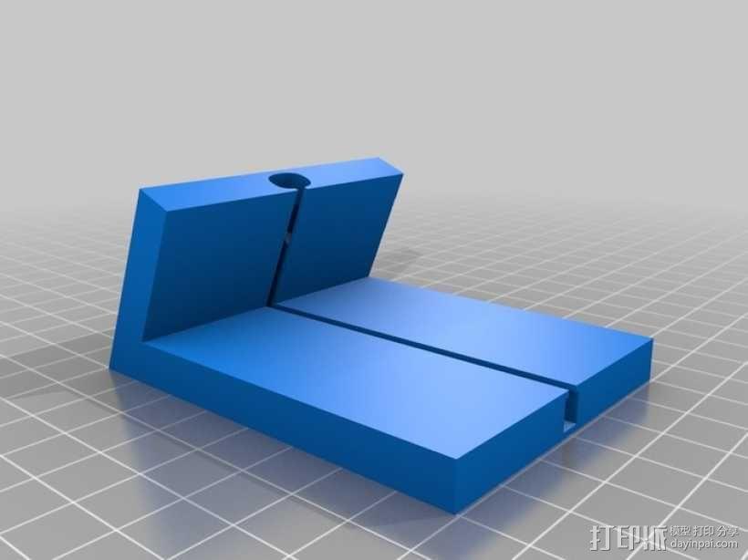 iPhone 5手机座 充电座 3D模型  图4