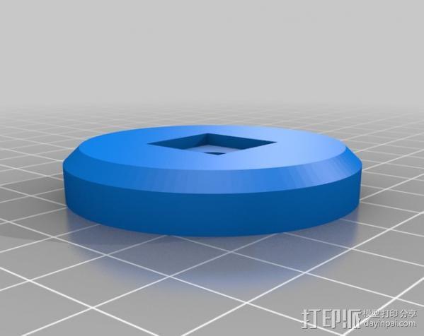 三脚架连接头 3D模型  图10