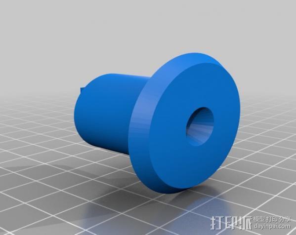 三脚架连接头 3D模型  图9