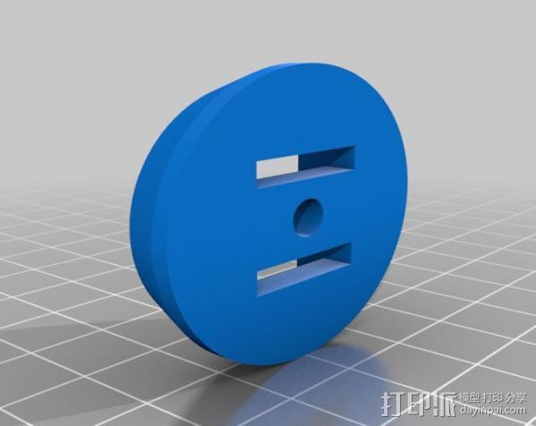 三脚架连接头 3D模型  图12