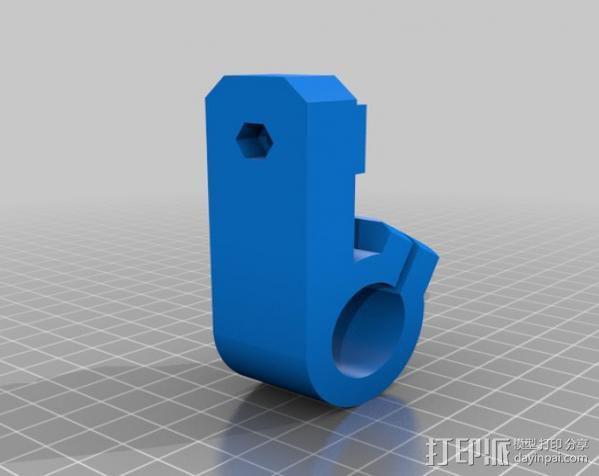 三脚架连接头 3D模型  图13