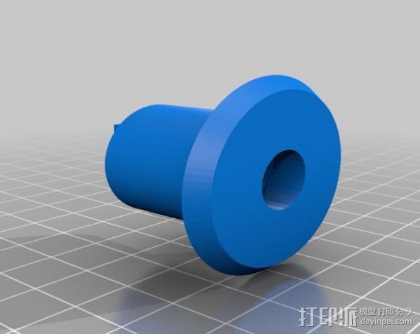 三脚架连接头 3D模型  图14