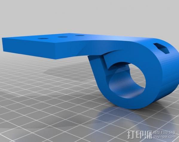 三脚架连接头 3D模型  图15