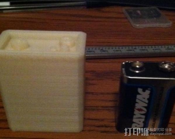辐射 电池盒 3D模型  图3