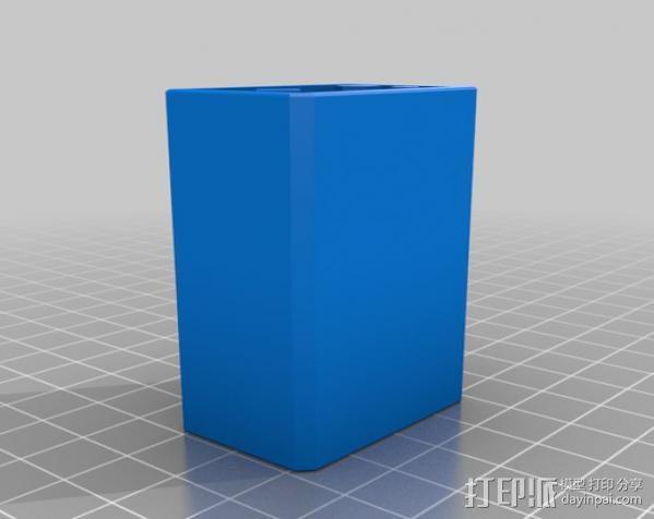 辐射 电池盒 3D模型  图2