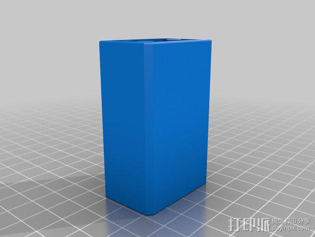 辐射 电池盒 3D模型  图1