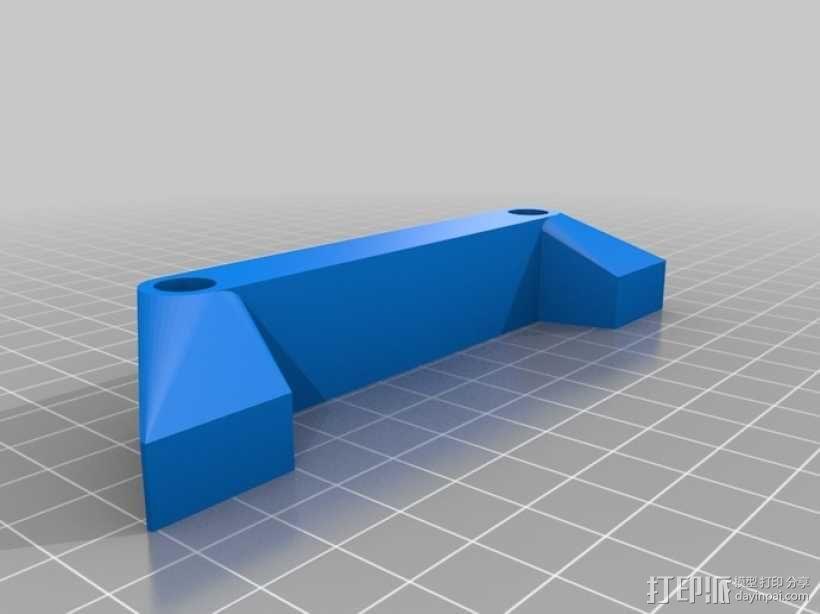 相机滑块 连接器 3D模型  图3