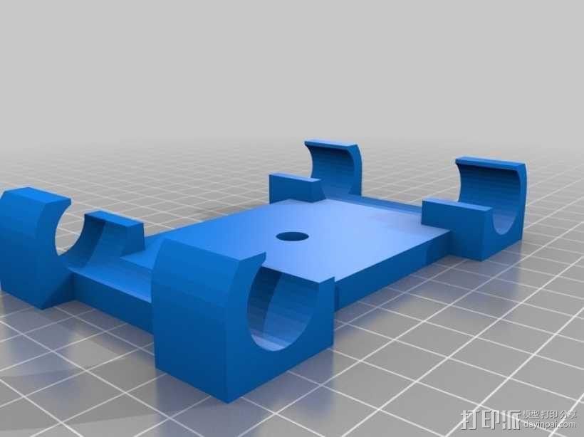 相机滑块 连接器 3D模型  图2