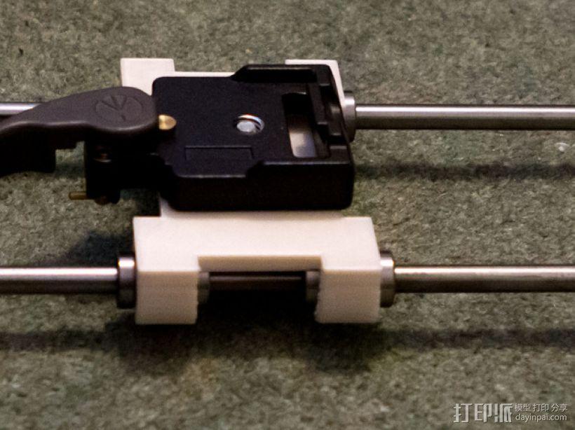 相机滑块 连接器 3D模型  图1