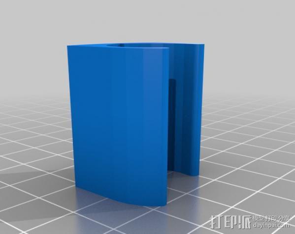 无线键盘触控板支撑 3D模型  图4