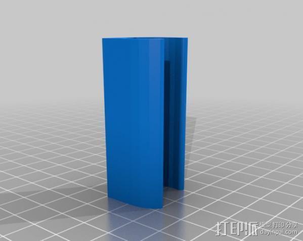 无线键盘触控板支撑 3D模型  图2