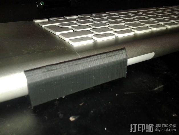 无线键盘触控板支撑 3D模型  图5