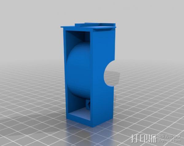 自行车载iPhone 5, 4 / 4S手机壳 3D模型  图6