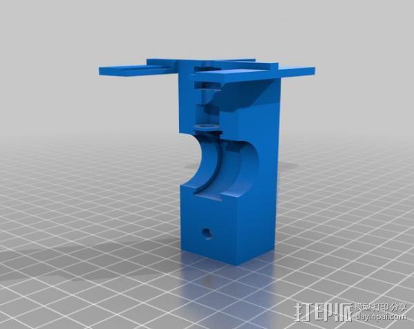 自行车载iPhone 5, 4 / 4S手机壳 3D模型  图7