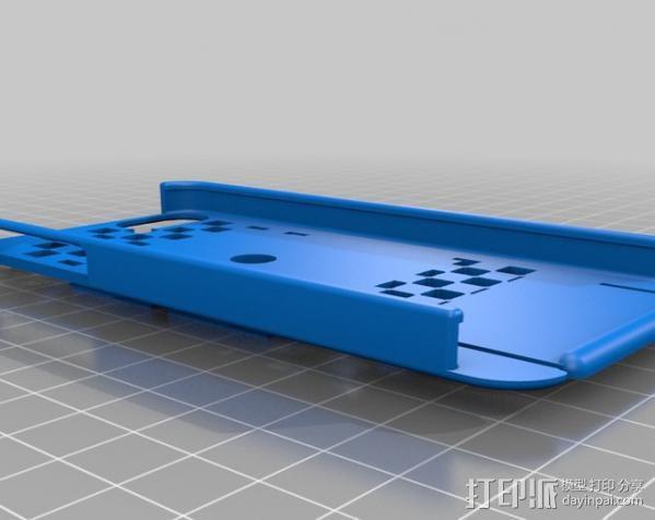 自行车载iPhone 5, 4 / 4S手机壳 3D模型  图10