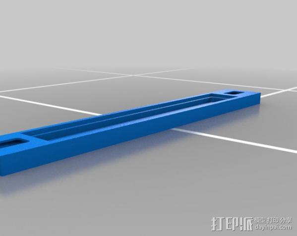 自行车载iPhone 5, 4 / 4S手机壳 3D模型  图9