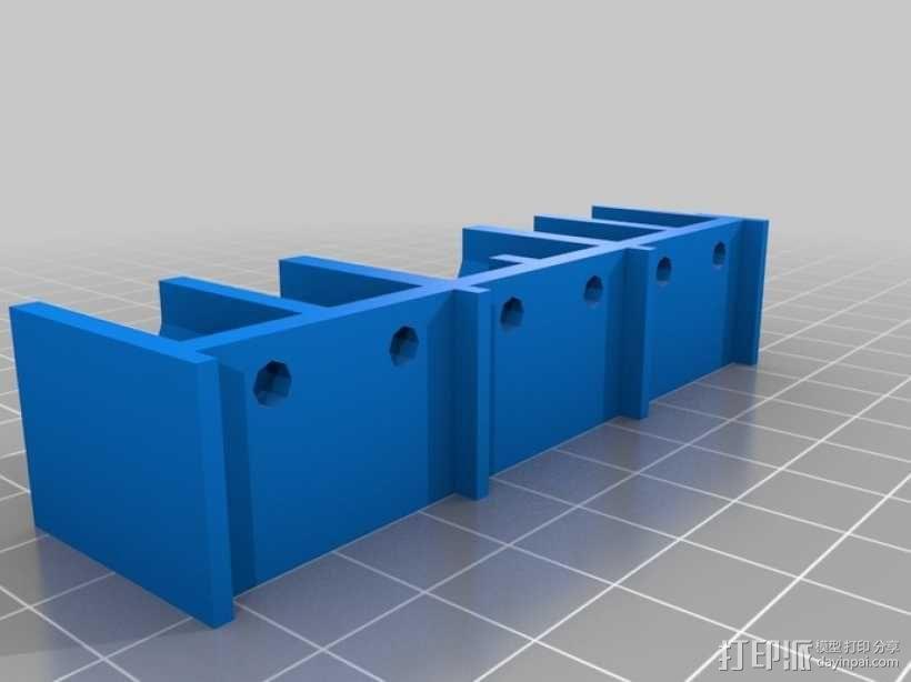 硬盘架 3D模型  图2