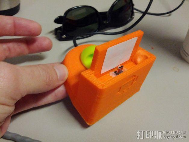 三星Galaxy 手机充电座 3D模型  图1