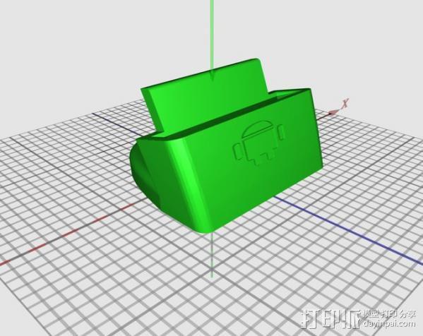 三星Galaxy 手机充电座 3D模型  图9