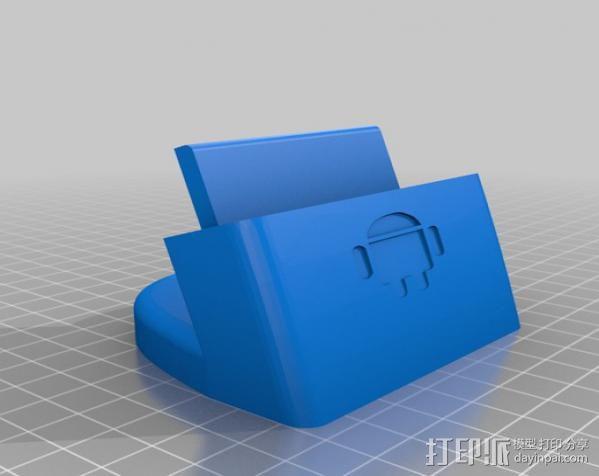 三星Galaxy 手机充电座 3D模型  图11