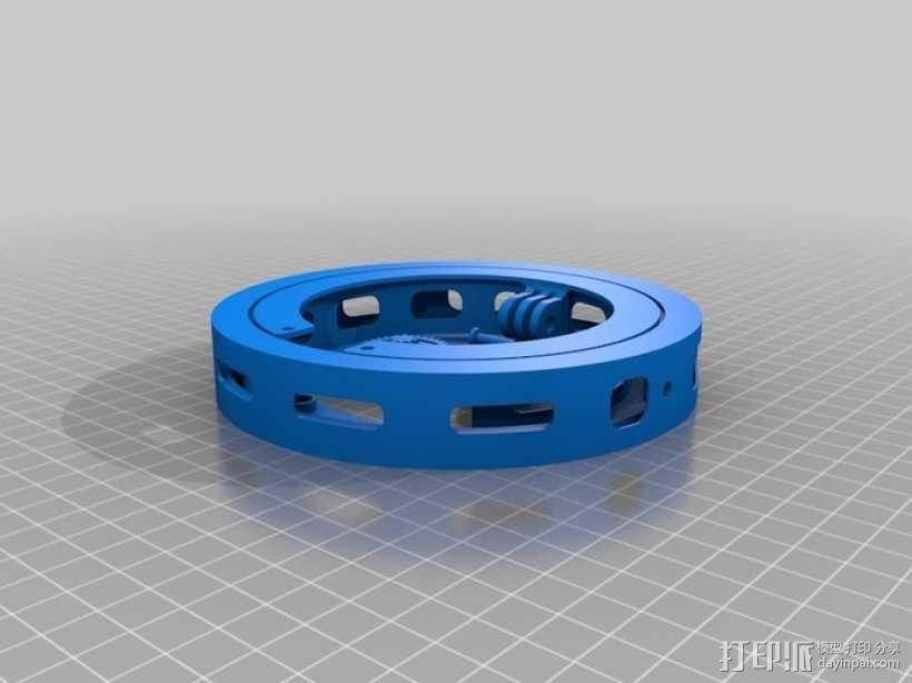 GoPro 相机万向接头 3D模型  图6