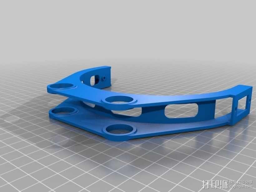 GoPro 相机万向接头 3D模型  图9