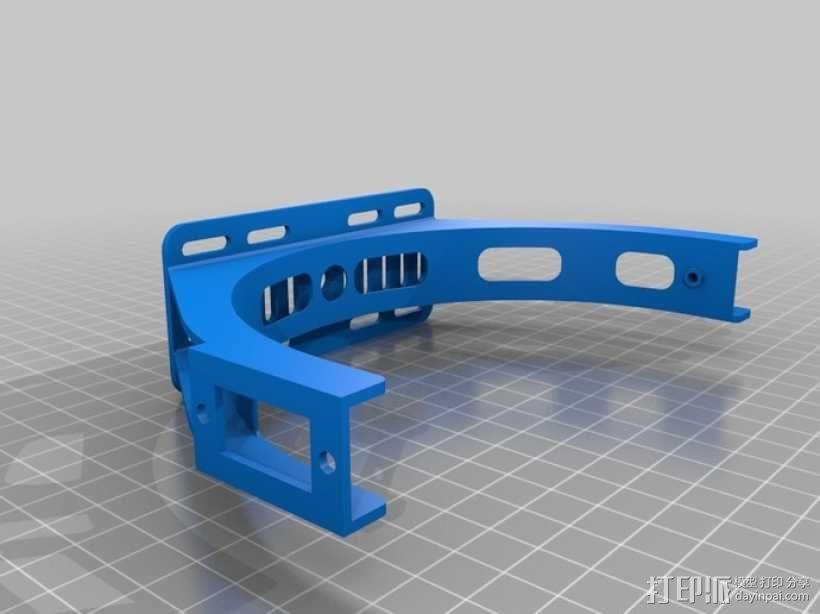 GoPro 相机万向接头 3D模型  图10