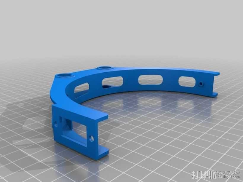 GoPro 相机万向接头 3D模型  图11
