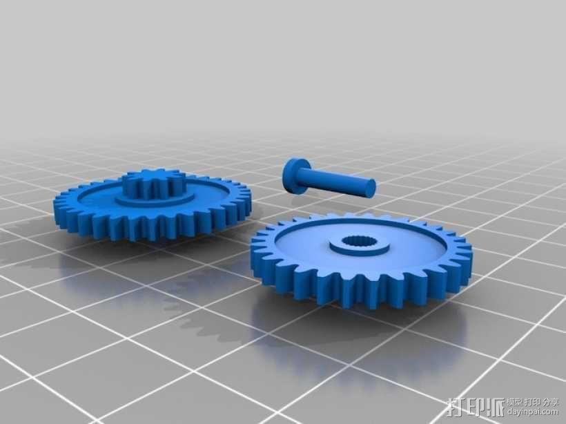 GoPro 相机万向接头 3D模型  图12