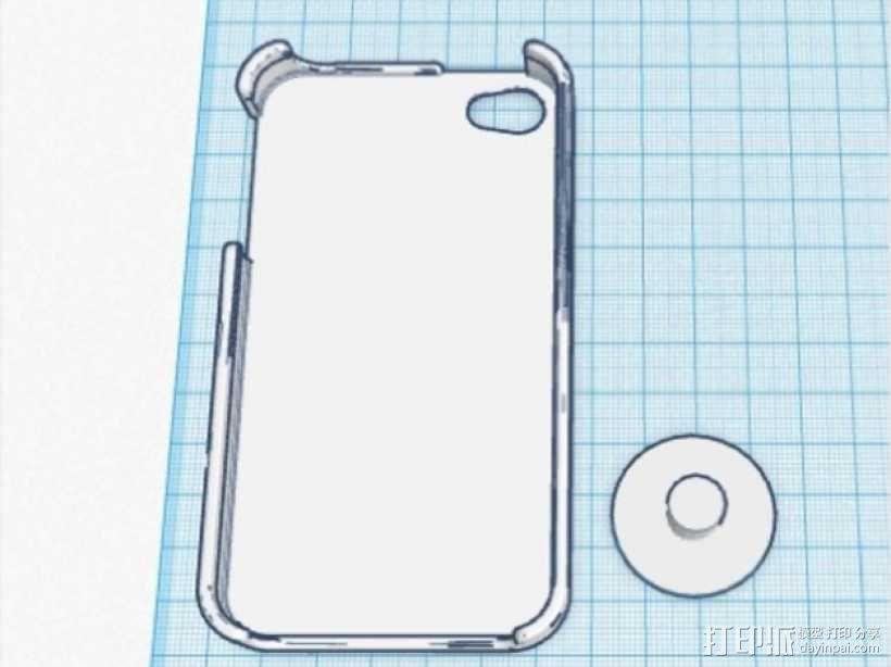 iPhone 4手机外壳 3D模型  图2
