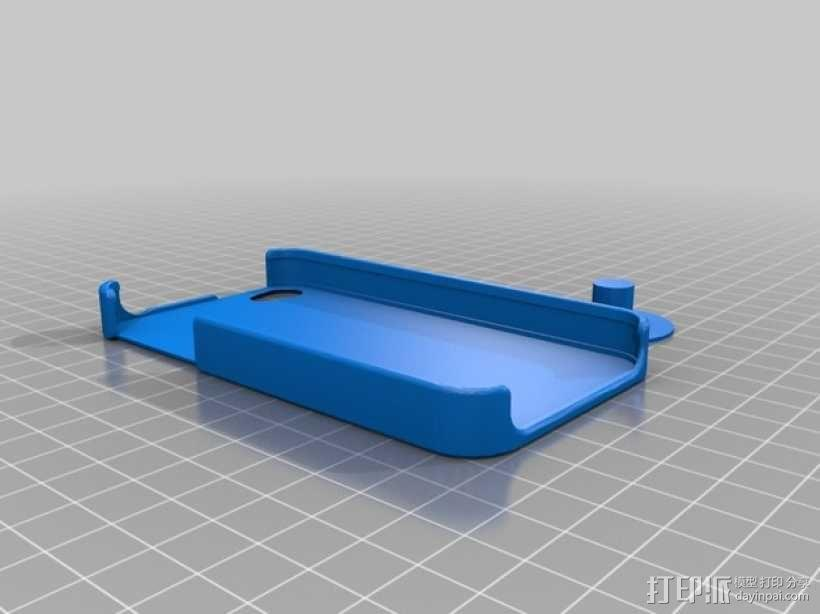 iPhone 4手机外壳 3D模型  图1
