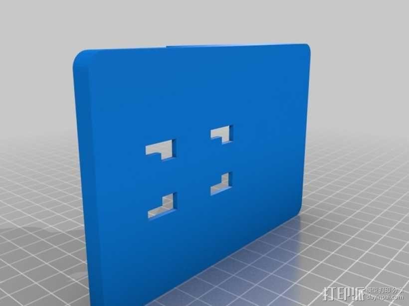 车载式一加手机座 3D模型  图2