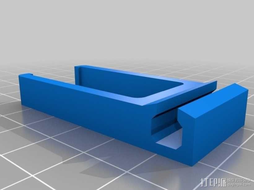 电缆支架 线夹 3D模型  图1