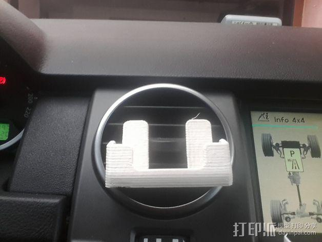 车载式iPhone 5c手机座 3D模型  图4